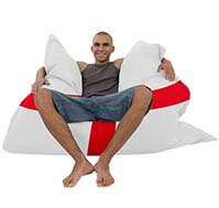 England Flag Bean Bag