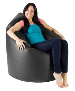 Faux Leather Beanbags