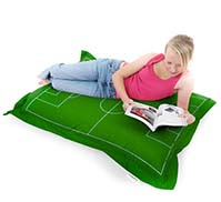 Football Pitch Floor Beanbag