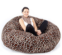 Goliath Faux Fur Beanbag