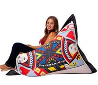 Queen Of Hearts Beanbag