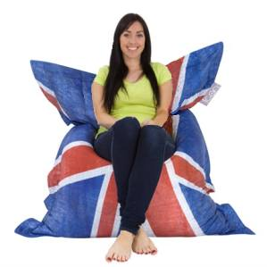Union Jack Beanbags